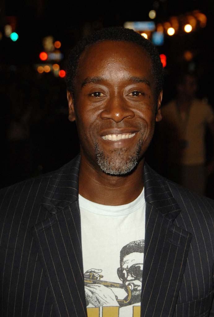 "Don Cheadle at the premiere of  ""The Assassination of Jesse James by the Coward Robert Ford"" at the Elgin Theatre at The 32nd Annual Toronto International Film Festival."