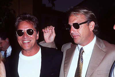 Premiere: Don Johnson and Kevin Costner at the Westwood premiere of Tin Cup - 8/1/1996