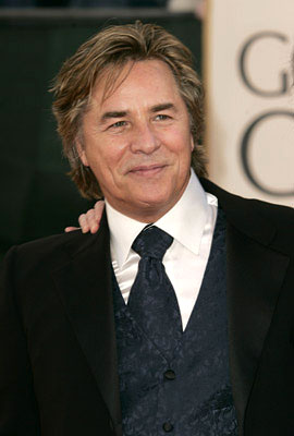 Don Johnson 63rd Annual Golden Globe Awards - Arrivals Beverly Hills, CA - 1/16/06