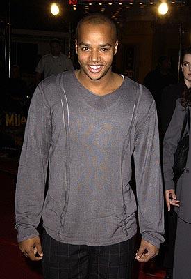 Premiere: Donald Faison at the LA premiere of Universal's 8 Mile - 11/6/2002