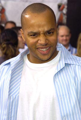 Donald Faison makes that face you don't want to see someone make when you're at a party after eating some bad burritos. MTV Movie Awards - 6/5/2004