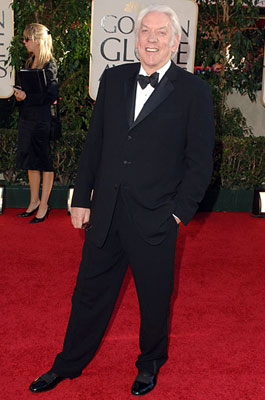 Donald Sutherland 63rd Annual Golden Globe Awards - Arrivals Beverly Hills, CA - 1/16/05