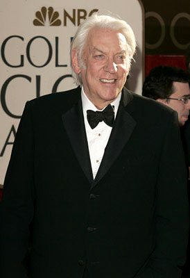 Donald Sutherland 63rd Annual Golden Globe Awards - Arrivals Beverly Hills, CA - 1/16/06