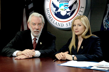 Donald Sutherland and Mira Sorvino LIFETIME Television's 'Human Trafficking'
