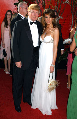 Donald Trump and Melania Knauss 56th Annual Emmy Awards - 9/19/2004 Donald Trump