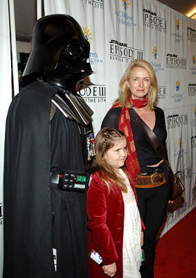 Premiere: Donna Dixon and Boba Fett at the NY premiere of 20th Century Fox's Star Wars: Episode III - Revenge of the Sith - 5/12/2005