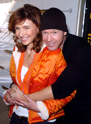 Mary Steenburgen and Donnie Wahlberg Marilyn Hotchkiss' Ballroom Dancing and Charm School Premiere - 1/24/2005 Sundance Film Festival