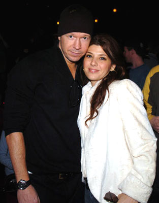 Donnie Wahlberg and Marisa Tomei Marilyn Hotchkiss' Ballroom Dancing and Charm School Premiere - 1/24/2005 Sundance Film Festival