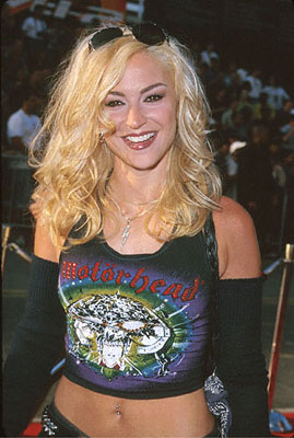 "Premiere: ""Sopranos"" star Drea de Matteo at The Chinese Theater premiere of Paramount's Mission Impossible 2 - 5/18/2000"