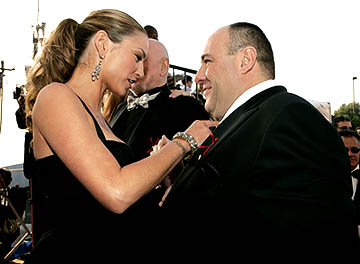 Drea De Matteo and James Gandolfini Screen Actors Guild Awards - 2/5/2005