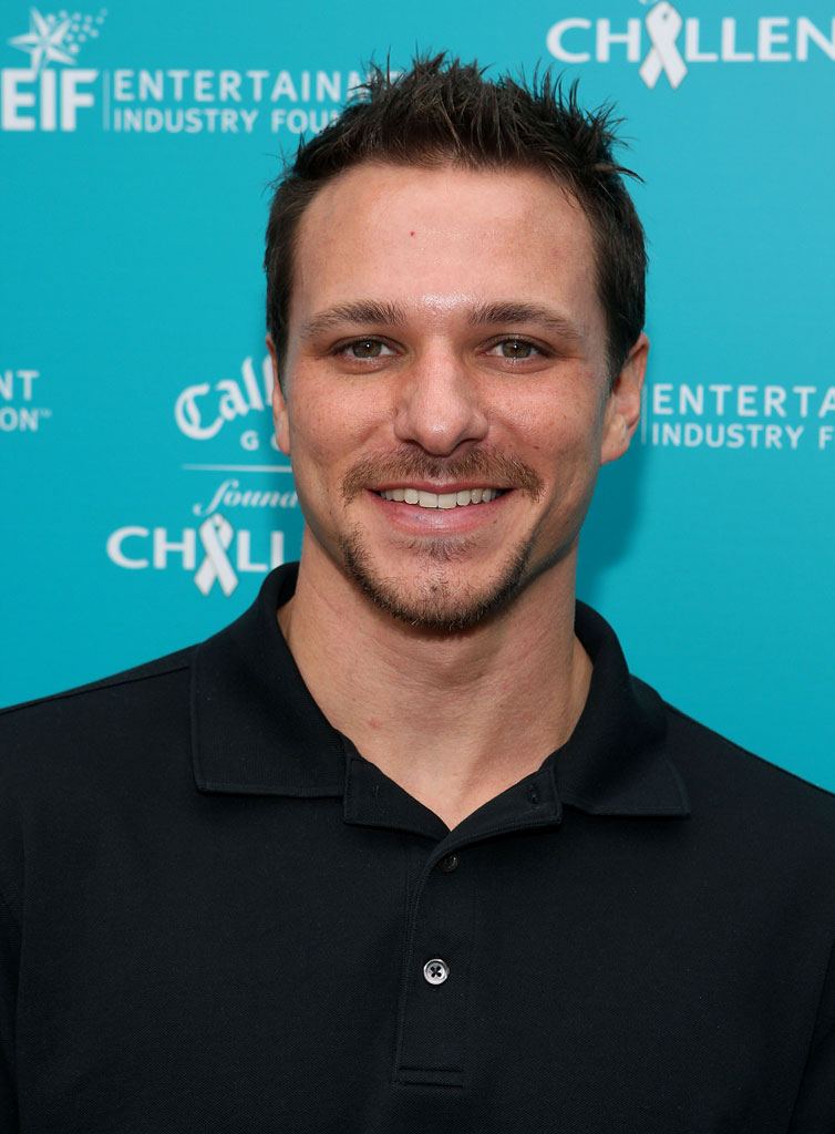 Drew Lachey  at the Callaway Golf Foundation Challenge at the Riviera Country Club.