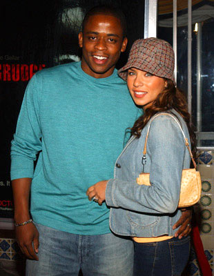 Premiere: Dule Hill with wife Nicole Lyn at the Los Angeles premiere of Columbia Pictures' The Grudge - 10/12/04