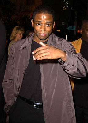 Premiere: Dule Hill at the Hollywood premiere of Ali - 12/12/2001