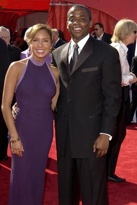 Nicole Lyn and Dule Hill 55th Annual Emmy Awards - 9/21/2003