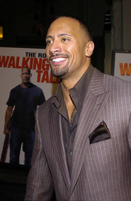 "Premiere: Dwayne ""The Rock"" Johnson at the LA premiere of MGM's Walking Tall - 3/29/2004"