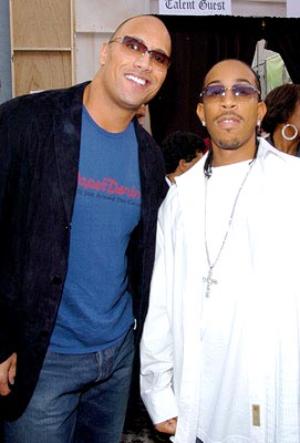 "Dwayne ""The Rock"" Johnson and Ludacris MTV Movie Awards - 6/5/2004"