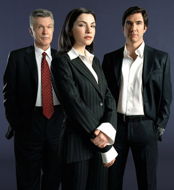 "Tom Skerritt, Julianna Margulies and Dylan McDermott TNT's ""The Grid"""