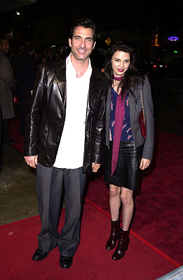 Premiere: Dylan McDermott and wife Shiva Rose at the Los Angeles premiere of Warner Brothers' The Pledge - 1/09/2001