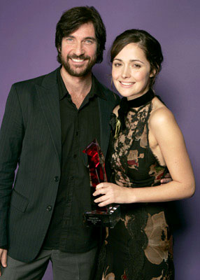 Dylan McDermott and Rose Byrne Hollywood Life's 4th Annual Breakthrough of the Year Awards - 12/12/2004