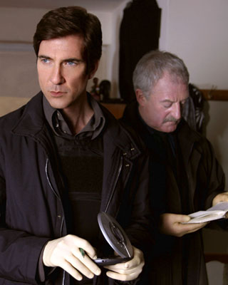 "Dylan McDermott and Bernard Hill TNT's ""The Grid"""