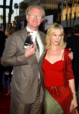 Premiere: Ed Begley Jr. with wife Rachelle at the Beverly Hills premiere of Paramount Pictures' The Manchurian Candidate - 7/22/2004