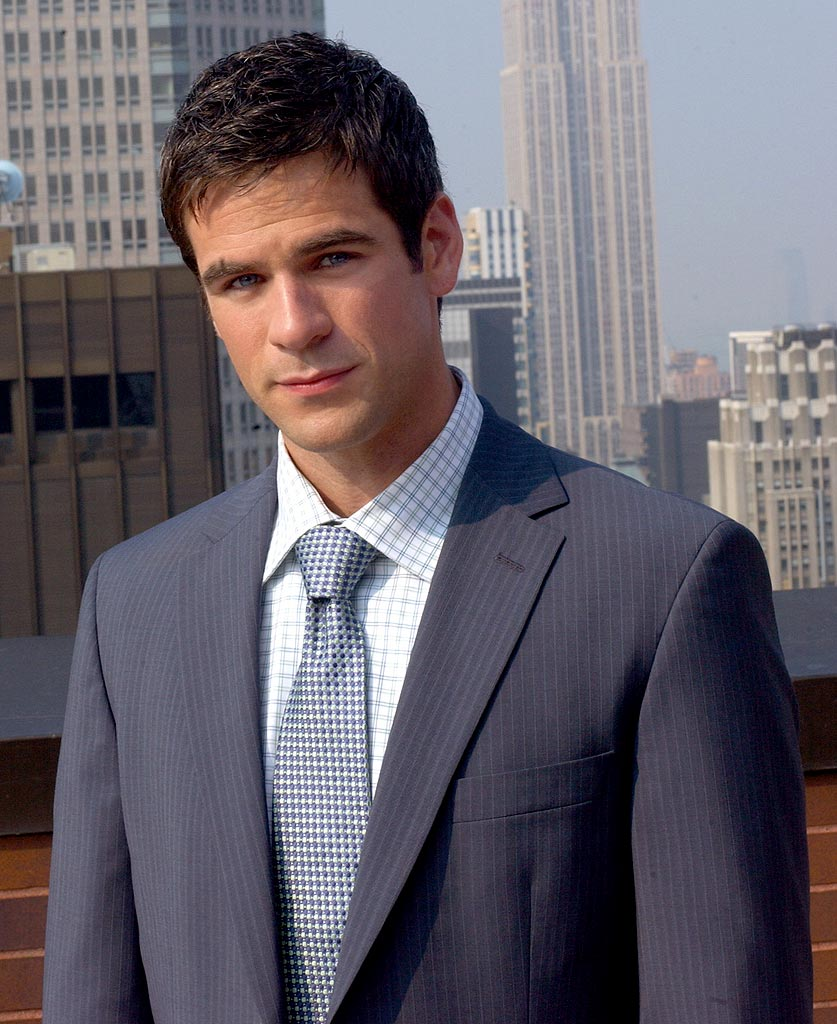 Eddie Cahill stars as Det. Don Flack in CSI: NY on CBS.