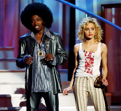 Eddie Griffin and Brittany Murphy MTV Movie Awards 6/1/2002