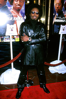 Premiere: Eddie Griffin at the Hollywood premiere of Touchstone's Double Take - 1/10/2001