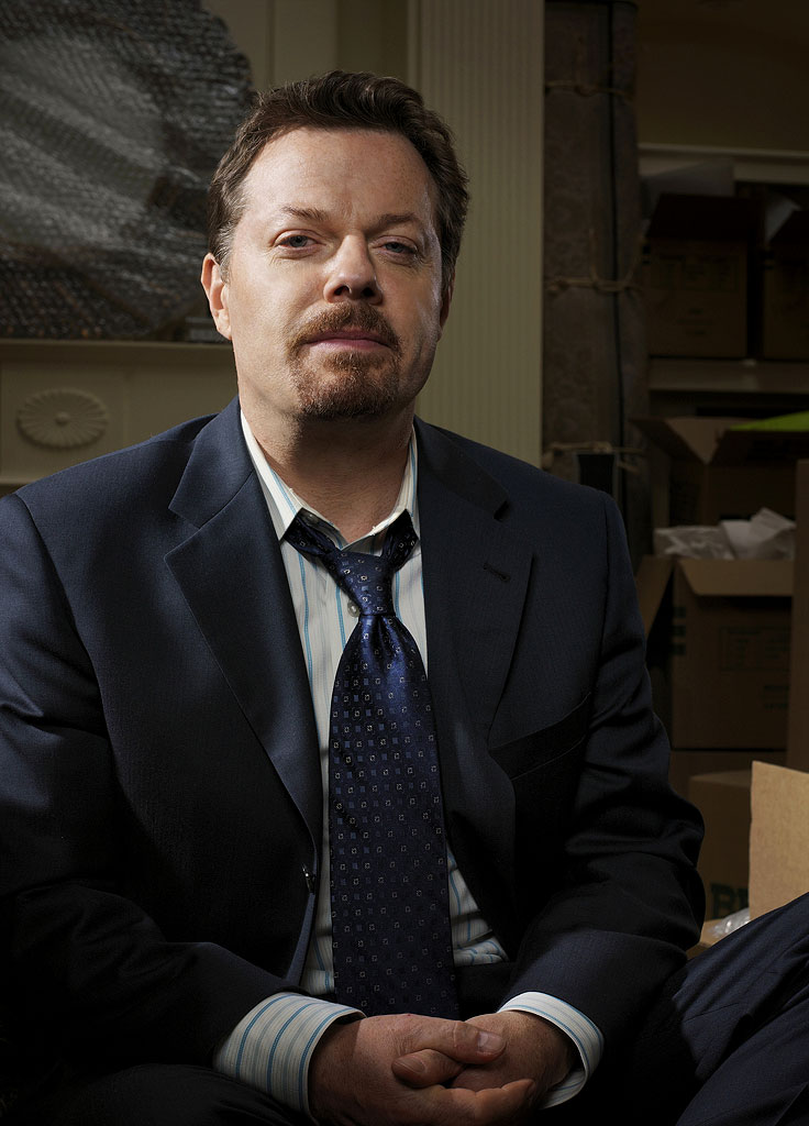 Eddie Izzard stars as Wayne Malloy in The Riches.