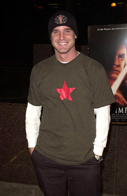 Premiere: Eddie McClintock at the Westwood premiere of Dimension's Impostor - 12/4/2001