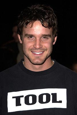 Premiere: Eddie McClintock at the Hollywood premiere of Paramount's Orange County - 1/7/2002