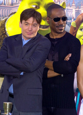Premiere: Mike Myers and Eddie Murphyat the L.A. premiere of Dreamworks' Shrek 2 - 5/8/2004