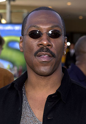 Premiere: Eddie Murphy at the Westwood, CA premiere of DreamWorks Pictures' Shrek - 4/22/2001
