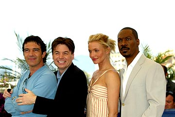 Antonio Banderas, Mike Myers, Cameron Diaz and Eddie Murphy Shrek 2 Cannes Film Festival - 5/15/2004