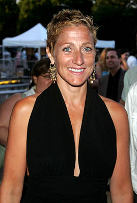 Premiere: Edie Falco at the NY premiere of Touchstone's The Village - 7/26/2004