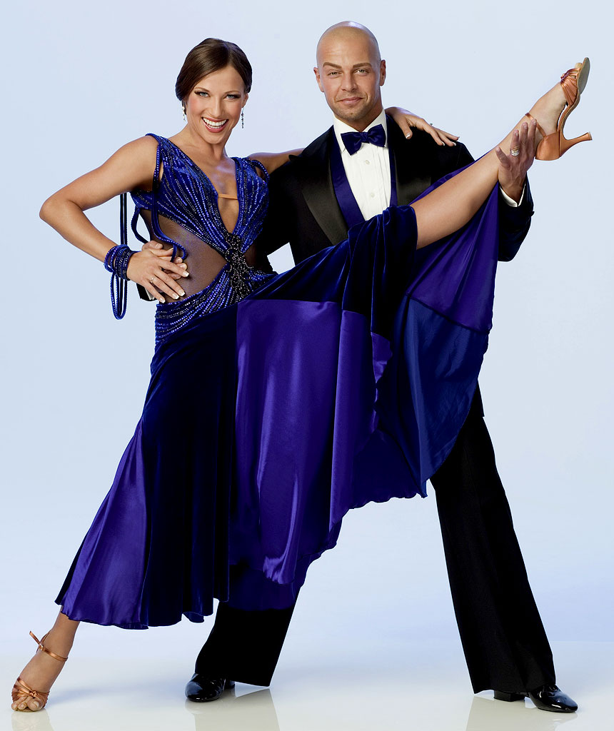 Actor Joe Lawrence teams up with professional dancer Edyta Sliwinska for Season 3 of Dancing with the Stars