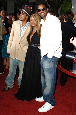 Premiere: Ludacris, Elise Neal and Will Smith at the Hollywood premiere of Paramount Classics' Hustle & Flow - 7/20/2005