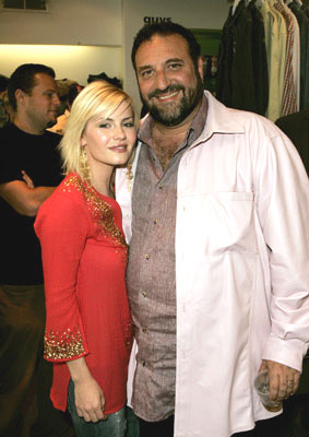 Premiere: Elisha Cuthbert and producer Joel Silver at Kitson in Beverly Hills for Warner Bros. Pictures' House of Wax - 4/21/2005