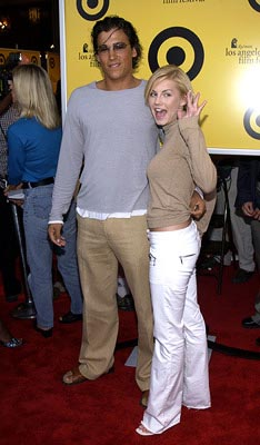Premiere: Andrew Keegan and Elisha Cuthbert at the Hollywood premiere of Fox Searchlight's The Good Girl - 6/29/2002