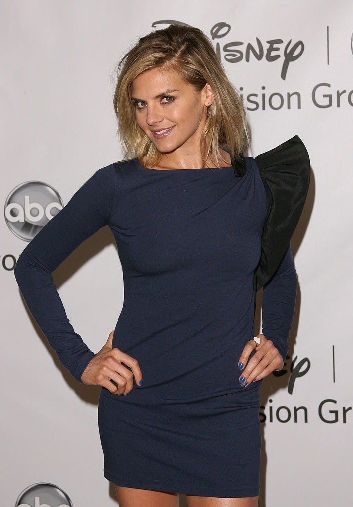 "Eliza Coupe of ""Happy Endings"" attends the Disney ABC Televison Group's 'TCA 2001 Summer Press Tour' at the Beverly Hilton Hotel on August 7, 2011 in Beverly Hills, California."