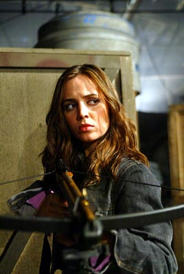 Eliza Dushku as Faith in WB's Angel