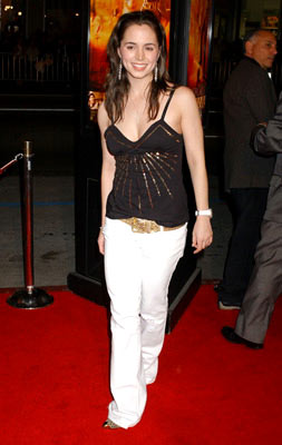 Premiere: Eliza Dushku at the Hollywood premiere of Paramount Pictures' Coach Carter - 1/13/2005