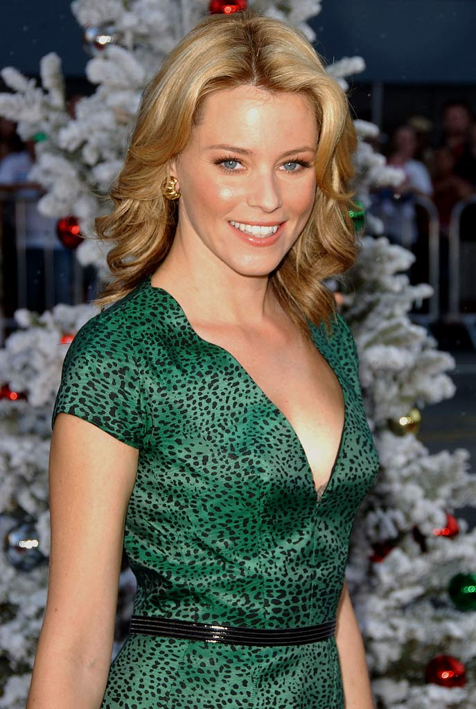 "Elizabeth Banks arrives at the premiere of Warner Bros. and Silver Pictures' ""Fred Claus."""
