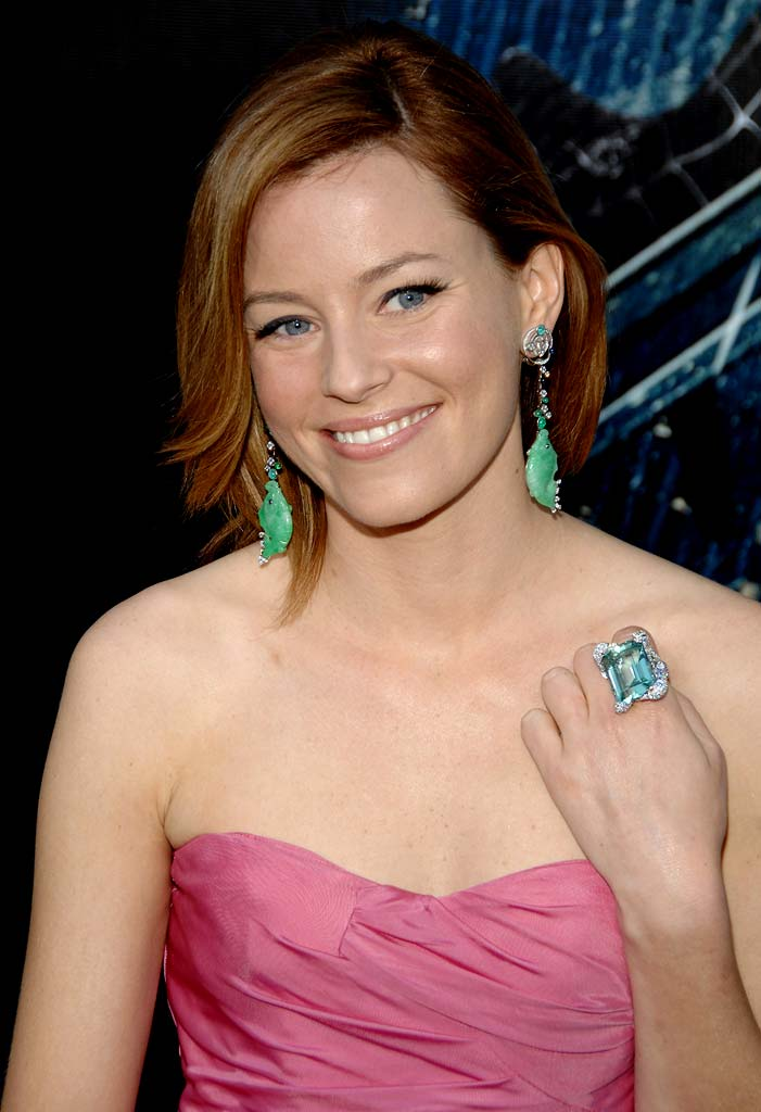 "Elizabeth Banks at the 6th Annual Tribeca Film Festival - ""Spider-Man 3"" Premiere."