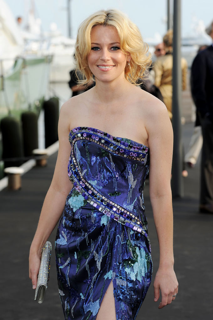 Elizabeth Banks attends the Fair Game Cocktail Party hosted by Giorgio Armani held aboard his boat 'Main' during the 63rd Annual International Cannes Film Festival on May 19, 2010 in Cannes, France.