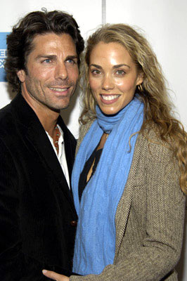 "Elizabeth Berkley and guest ""Special Thanks to Roy London: premiere - Tribeca Film Festival April 23, 2005 - New York, NY"