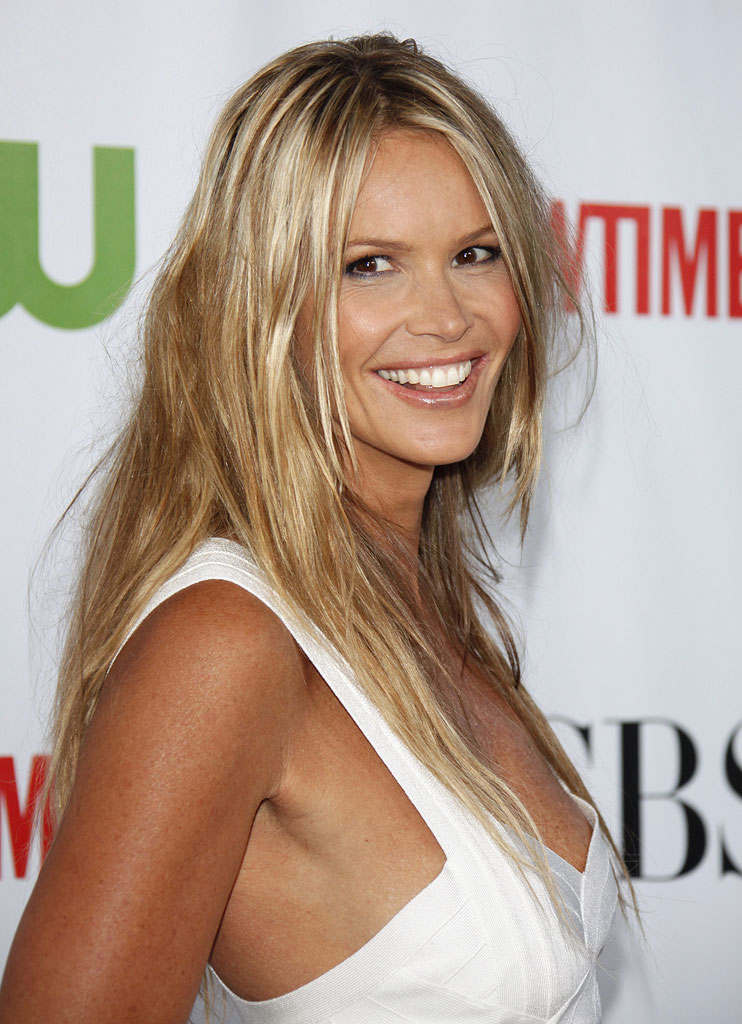 "Elle Macpherson (""The Beautiful Life"") arrives at the CBS, The CW, and Showtime 2009 TCA Summer Tour All-Star Party held at the Huntington Library on August 3, 2009 in Pasadena, California."