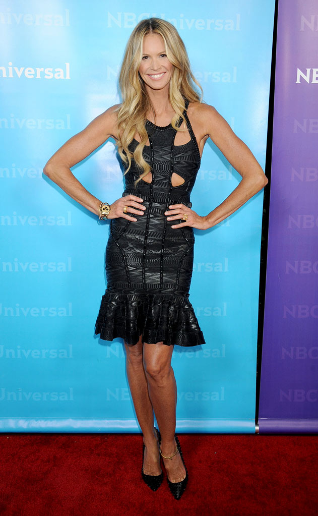 "Elle Macpherson (""Fashion Star"") attends the 2012 NBC Universal Winter TCA All-Star Party at The Athenaeum on January 6, 2012 in Pasadena, California."