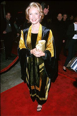 Premiere: Ellen Burstyn at the Egyptian Theatre premiere of Artisan's Requiem For A Dream - 10/16/2000