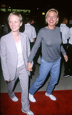 Premiere: Anne Heche and Ellen DeGeneres at the LA premiere for Eyes Wide Shut Photo by Jeff Vespa/Wireimage.com